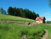 Malowniczo położony dom w stanie surowym - Lesica - okolice Międzylesia
